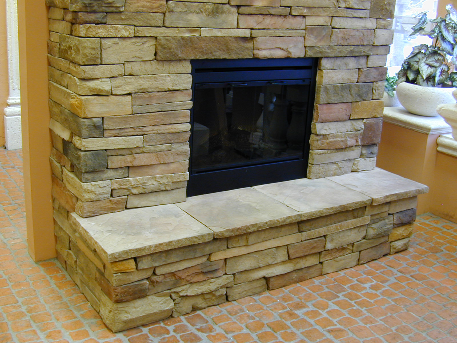 Fireplace Remodel On Pinterest Stone Veneer Gas